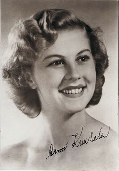 Miss University Armi Kuusela y. 1952 from Finland