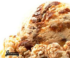 """Who's bringing the pumpkin pie? Upgrade your dessert table with Guernsey Farms Dairy Pumpkin Pie a la Mode ice cream. We swirl creamy vanilla ice cream swirled with pumpkin pie filling and bits of crunchy graham cracker for a new twist on a holiday favorite. The """"a la mode"""" is already inside. #puremichigan #pumpkinpie #icecream #holidays #holidayparty #dairy #pie #Guernsey #Northville #guernseyfarmsdairy"""