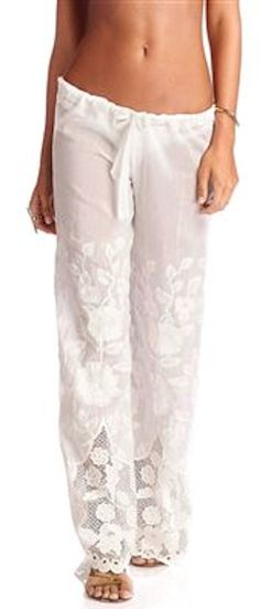 sheer embroidered beach pants http://rstyle.me/n/mtv2rr9te