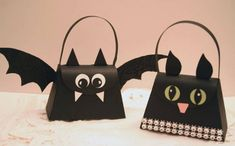 Cat and Bat by sleepyinseattle - Cards and Paper Crafts at Splitcoaststampers