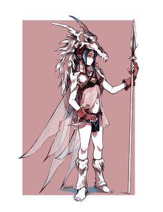 Elven Fairy Warrior by glaciesClOvEr.deviantart.com on @DeviantArt