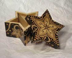 Star Box   Sheila Rayyan   Mother Spoon Studio   Pyrography