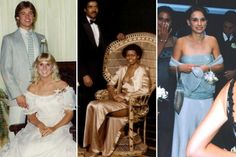 Awkward Celebrity Prom Pics: Michelle Obama, Brad Pitt and more...