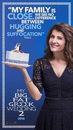 My Big Fat Greek Wedding 2 Nia Vardalos Poster 2 Movie, Love Movie, Movies Showing, Movies And Tv Shows, Greek Wedding 2, The Secret Scripture, Nia Vardalos, Greek Memes, Greek Girl
