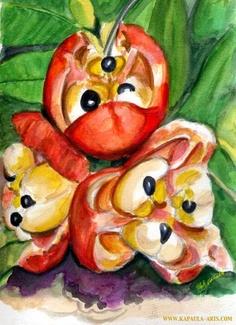 Ackee, Jamaica's National Fruit