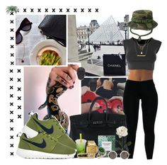 classy motherfuc✗er | by cleopetra-pyramids on Polyvore featuring polyvore, fashion, style, NIKE, Hermès, Charles Albert, Nixon, ASOS, Laura Lee and Dogeared