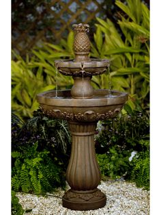 Classic Pineapple Tiered Fountain