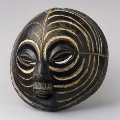 Luba peoples Mask (Kifwebe), 19th–mid-20th century Wood, pigment H. 13 1/2 x W. 14 3/8 x D. 7 1/2 in. (34.3 x 36.5 x 19.1 cm) Democratic Republic of the Congo