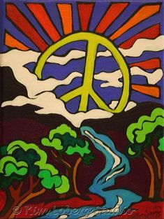☮ American Hippie Psychedelic Art Quotes ~ Peace Sign .. Peace Valley
