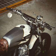 Honda NX650 Street Tracker by Overbold Motor Co. #motorcycles #streettracker #motos   caferacerpasion.com