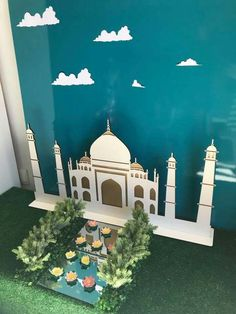Eid decoration, eid mubarak, eid party city, why is eid celebrated, eid today Ramadan Activities, Ramadan Crafts, Ramadan Decorations, Projects For Kids, Crafts For Kids, Bolo Panda, Arabian Party, Taj Mahal, Eid Cards