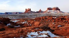 Monument Valley in Winter, Utah #SunKuWriter #Portugal FREE Books ► http://Sun-Ku.com  ◄