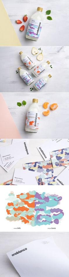 Oroblanco is a Refreshing New Line of Dairy-Based Beverages — The Dieline | Packaging & Branding Design & Innovation News