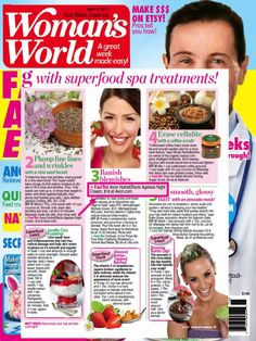 We spot Avon nutaeffects Ageless Night Cream mentioned in the latest edition of Woman's World magazine!