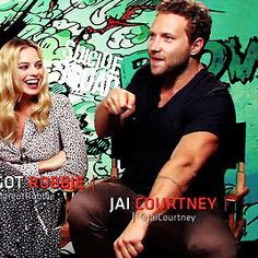 Jai Courtney Margot Robbie Suicide Squad Interview
