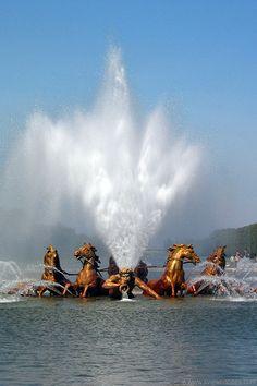 Apollo Fountain, Versailles                                                                                                                                                                                 Plus