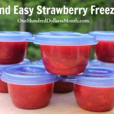 Strawberry Freezer Jam, Fresh Strawberry Recipes, Freezer Jam Recipes, Canning Recipes, Summer Recipes, Grain Free, Food And Drink, Favorite Recipes, Cooking