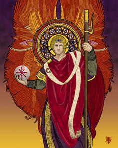 St Raphael, my Archangel, is the patron Saint of healing.