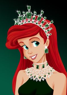 Royal Jewels: ARIEL by ~MissMikopete on deviantART