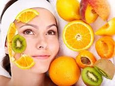 MAKE YOUR OWN #FACIAL DIY CHEMICAL #PEEL AT HOME  1 Tblsp mashed papaya, cantaloupe or pineapple or kiwifruit 1 tspn lemon or other citrus juice (lime, lemon, orange or grapefruit) 1 mashed strawberry or 1 Tblsp mashed banana 1 tablespoon milk, cream or yogurt 1 teaspoon molasses (high in glycolic acid) 1 tablespoon or red wine or a crushed aspirin Mix to a puree & apply to your facial skin and décolletage taking care to avoid the delicate eye are 1/2 an inch under the eyes.