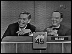 What's my Line? Milton Berle