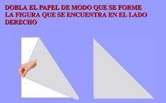 Recurso Educativo en Abierto Procomún para Primaria. Construir polígonos haciendo dobleces en el papel virtual. Matemáticas