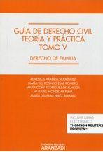 ARANDA RODRÍGUEZ, Remedios. Guía de derecho civil teoría y práctica T. 5 Derecho de familia. Aranzadi 2014.