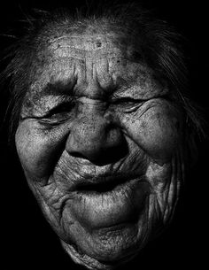 Лица стариков (18 Фото)