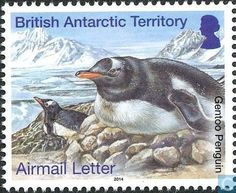 Postage Stamps - British Antarctic Territory - Penguins