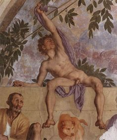 Jacopo Pontormo - Vertumnus and Pomona (detail) - WGA18091.jpg