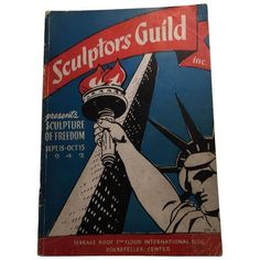 Sculpture of Freedom, 1942 Sculptors Guild NY Catalog ($45) ❤ liked on Polyvore featuring home, home decor, books, black white home decor, outdoor home decor, outside home decor, black and white plates and paper sculpture