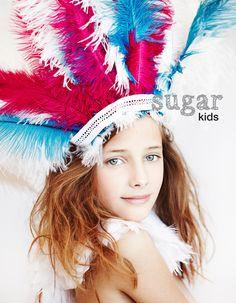 Julia de Sugar Kids para magazine La Vanguardia