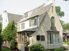 Mark Hickman Homes,  traditional  cottage exterior, via houzz