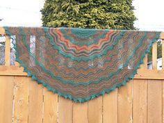 Ravelry: Alberni Valley Shawl pattern by Margaret Jones