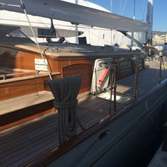 Our Absolute Boat Care ‪#‎ABCVarnish‬ team have successfully completed another full varnish project. #superyachtfinishingservices
