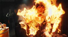hell boy blue fire gif - Google Search