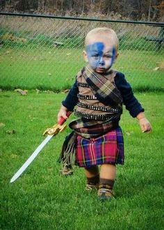 Braveheart Oh I hope I have a little boy someday so I could do this!
