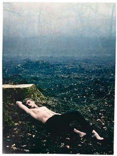 Stripped Forest Spreads  The Tomek Borowka by Lukas Sowada Portrait Series is Striking #portrait #photography