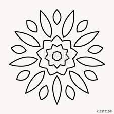 Image Result For Simple Mandala Outline Simple Mandala Simple Mandala Design Outline Drawings