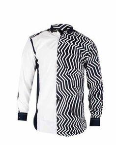 African Fashion Ankara, African Wear, Formal Shirts For Men, Casual Shirts, Baby African Clothes, Mens Hottest Fashion, African Shirts For Men, Classy Men, Men Design