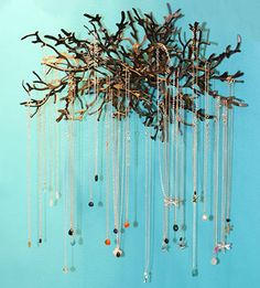 ways to hang your jewelry - Google Search