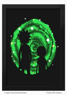 Rick and Morty | Posters Minimalistas