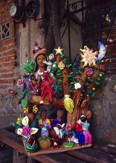 Oaxacan folk art by Irene Aguilar Alcántara