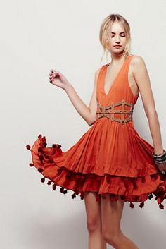 Free People Sun Of Paradise Dress at Free People Clothing Boutique