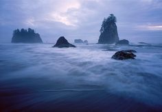 Olympic National Park's beautiful coastline