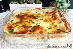 Gratinado de legumes Big Chefs, Lasagna, Quiche, Food And Drink, Vegetables, Breakfast, Ethnic Recipes, Creme, Fitness