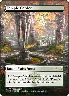 Magic The Gathering Temple Garden Proxy