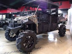 New 2016 Polaris RANGER Crew XP 900-6 EPS Polaris Pursuit ATVs For Sale in Texas.