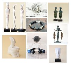 """Santorini Art & Jewelry"" by sunsanjewelry ❤ liked on Polyvore featuring art"