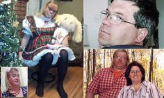 Stefonknee Wolscht, 52, lived as Paul with his wife  until she realized she was transgender and was shunned by her family. She now lives with an adoptive family as a six-year-old girl.